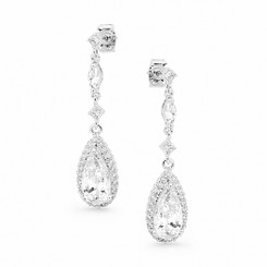 Isabella diamante bridal earrings £58.95