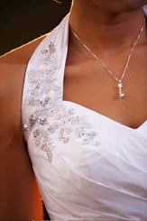 Diamante wedding pendant lovely for bridesmaids