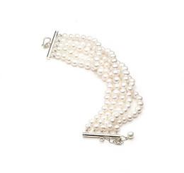 Grace Freshwater Pearl Bridal Bracelet