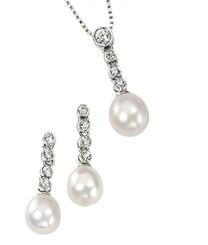 Rosella freshwater pearl pendant set ideal for bridesmaids jewellery