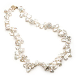 Tamar Keshi Pearl Bridal Necklace
