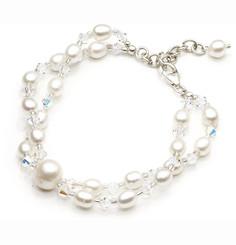 Bianca Pearl Bridal Jewellery Bracelet