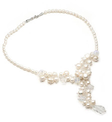 Thalia Freshwater Pearl Bridal  Necklace