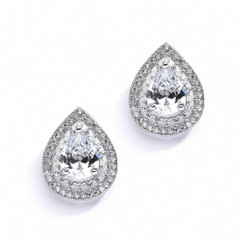 Celia Diamante Wedding Earrings 10E