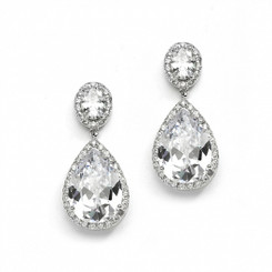 Arianna diamante drop earrings L7
