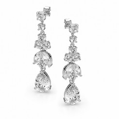 Diamante Wedding Earrings