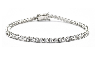 Zoe diamante tennis bracelet