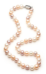 Leah Freshwater Pearl Necklace