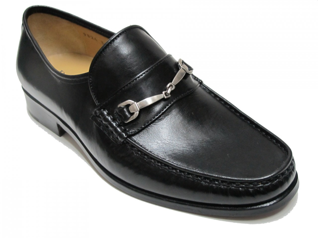 Davinci Menu0026#39;s Slip On Loafer Dressy Shoes 9824 Black And Brown