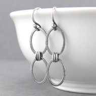 Aubrey Earrings - Sterling Silver