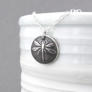 Dragonfly Necklace - Small