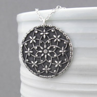 Filigree Mandala Necklace