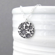 Bouquet of Daisies Necklace - Unique Petite