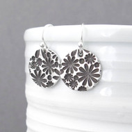 Bouquet of Daisies Earrings - Unique Petite