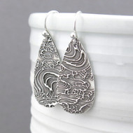 Abigail Earrings - Turbulent Waters