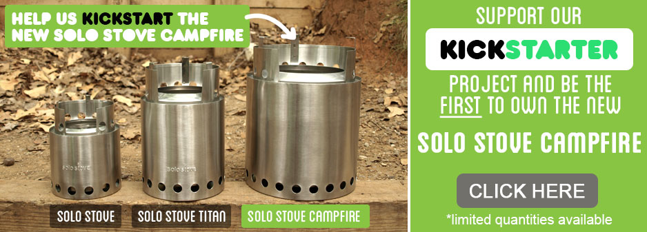 kickstarter camping stove