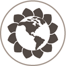 eco friendly flower icon