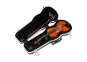 SKB Cases 1/4 Violin Deluxe Case