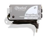 Radial Engineering StageBug SB-5 Passive Laptop Stereo DI