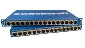 Switchcraft 1RU Rack Mounted I/O Panel - 16 male XLR to 16 female XLR