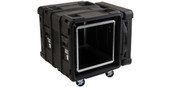 SKB Cases 10U Roto Shockmount Rack Case - 24