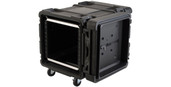 SKB Cases 10U Roto Shockmount Rack Case - 28