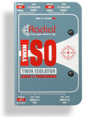 Radial Engineering Twin-Iso Two Channel Line Level Isolator