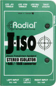 Radial Engineering J-Iso Stereo +4dB to -10dB Isolated Line Level Converter