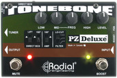 Radial Engineering Tonebone PZ-Deluxe Acoustic Instrument Preamp