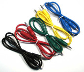 Ad Infinitum - Colored Single 3.5mm Mono Patch Cable - Bulk