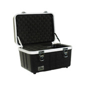 Grundorf ABS-MC12C Hardshell Mic Case Holds 12 Mics And Cables