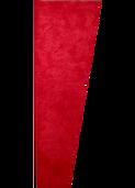 """Auralex 1"""" x 16"""" x 48"""" Red SonoSuede Trapezoid Panel, Right"""