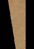 "Auralex 1"" x 16"" x 48"" Tan SonoSuede Trapezoid Panel, Left"