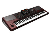 KORG 61-Key Pro Arranger with Speakers, Tiltable Color Touch Screen, TC Helicon Effects, Sampling