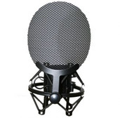 Golden Age Project SP-1 Shock Mount with Metal Mesh Pop Filter