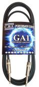 CBI Professional GA-1 Performer Series Guitar & Instrument Cable