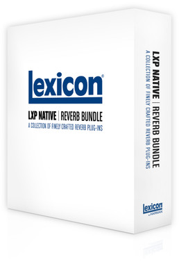 Lexicon LXP Native Reverb Plug-In Bundle - 4 VST/AU/RTAS Reverb Plug-ins (Digital Download)