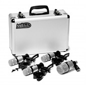Miktek PMD4 4-Piece Dynamic Drum Microphone Kit