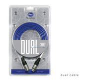 Blue Microphones Dual Microphone Cable - 20ft