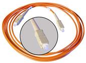 ALVA MADI0.5S 1 x SC to 1 x SC Simplex MADI Optical Cable