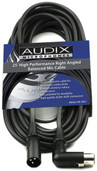 Audix CBLDR25 25' Right Angled Balanced Mic Cable