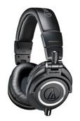 Audio-Technica ATH-M50X Closed-Back Dynamic Monitor Headphones