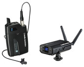 Audio-Technica System-10 ATW-R1700 Receiver, ATW-T1001 UniPak Transmitter & MT830cW Lavalier Mic
