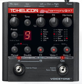 TC-Helicon VoiceTone Harmony-G XT Vocal Effects Processor for Guitarists
