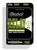 Radial Engineering Relay Xo Balanced Remote AB Switcher