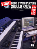 Stuff! Good Synth Players Should Know - Book and CD Package