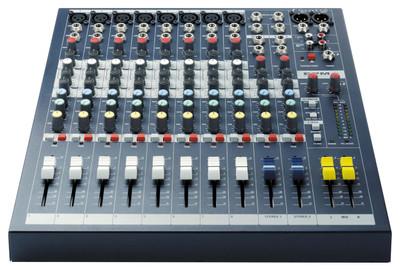 Soundcraft EPM8 High Performance Analog Mixer - 1