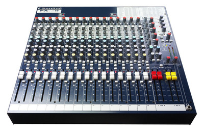 Soundcraft FX16ii - 16 Channel Analog Mixer - 1