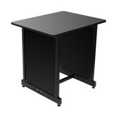 On-Stage Stands  WS7500 Series Workstation Rack Cabinet (Black)