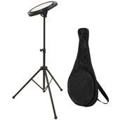 On-Stage Stands Drum Practice Pad with Stand & Bag